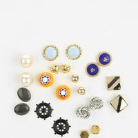 Urban Outfitters - Diament Jewelry For Urban Renewal Vintage Stud Earring - Set Of 3