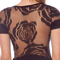 Rosa Laced Dress in Black :: tobi