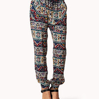 Tribal Print Harem Pants