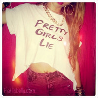 Unique Pretty girls lie side winged custom tshirt by FatLipBella