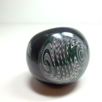 Glass Pipe, Trustafarian Reversal Cap Pipe, READY to SHIP, Cgge Team, One of a Kind, Hand Blown Glass