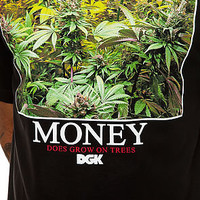 DGK Tee Money Trees in Black