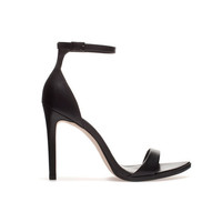 LEATHER SANDAL - Shoes - Woman - ZARA United States