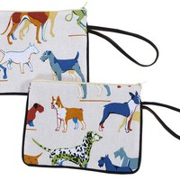 One Kings Lane - Pet Shop - Multi Dog Treat Bag, Multi