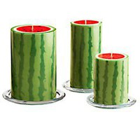 Pier 1 Imports - Watermelon Pillars