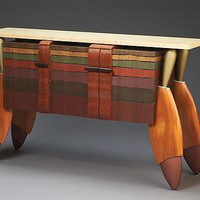Big Ol Buffet by Brent Skidmore: Wood Cabinet - Artful Home