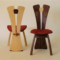 SplitBack Chair by Steven M White: Wood Chair - Artful Home