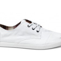 White Canvas Men's Paseos | TOMS.com