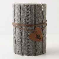 Large Cableknit Candle-Anthropologie.com