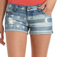 Hot Kiss Stars & Stripes Short: Charlotte Russe