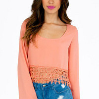 Caroline Cropped Blouse $29