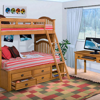 Crosby Twin over Full Bunk Bed