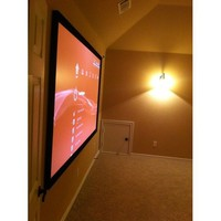 Elite Screens ER120WH1 Sable Fixed Frame Projection Screen (120 inch 16:9 AR)