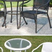 Solutions - Outdoor Wicker Bistro Chair