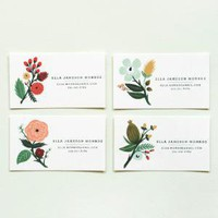 Rifle Paper Co. - Botanical Notes & Calling Cards