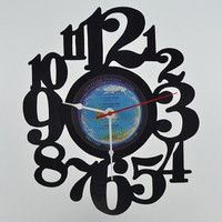 Vinyl Record Album Wall Clock (artist is Jefferson Starship)