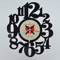 Unique Home Decor Vinyl Record Wall Clock (artist is Duran Duran)