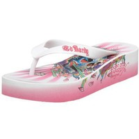 Ed Hardy Little Kid/Big Kid Kim Fiji Sandal: Shoes