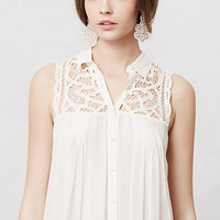 Laced & Ruched Tunic