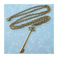 Golden Key Necklace