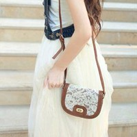Cute Lace Satchel Bag from alanchen
