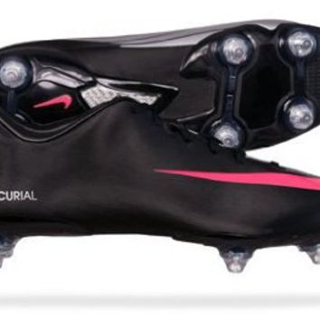 Amazon.com: Nike Mercurial Miracle SG Mens soccer Boots / Cleats - Black: Shoes