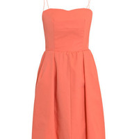 Coral cotton dress | Carven | Matchesfashion.com