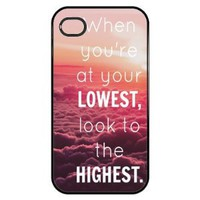 Amazon.com: Inspirational quote Iphone 4 Case: Everything Else