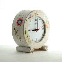 FREE SHIPPING - CLOCK oldE circle Folk