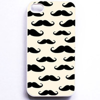 Iphone Case Mustache Facial hair Italian French Beard by MursBlanc