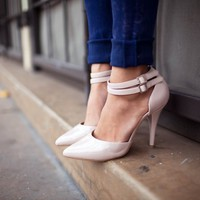 Tiarella Patent Ankle Strap Courts - Press Clips - French Connection Usa