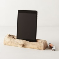 Driftwood 4th Generation iPad Dock