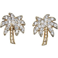Juicy Couture Palm Tree Stud Earrings