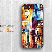 streetlight Rain days  iphone 5 case soft rubber iphone 5 cases hard iphone 4 4s cover unique case design