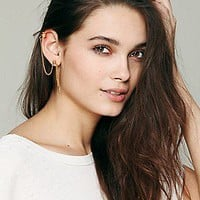 A Peace Treaty  Cuff And Post Drop Earring at Free People Clothing Boutique