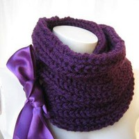 ETSY FREE SHIPPING PURPLE SCARF black friday etsy by denizgunes