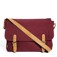 ASOS Canvas Satchel at asos.com
