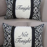 Personalized Pillow   2 Sided Monogrammed by threadedcreations