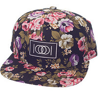 Paper Root The Mekalekahi Floral Allover Snapback