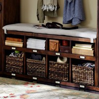 Olivia Bench - Tuscan Chestnut stain