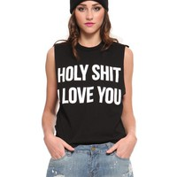 Holy Sh*t Muscle Tank | GYPSY WARRIOR