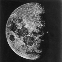 The Moon Photographed on the Tenth Day of the Lunar Cycle Photographic Print at Art.com