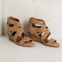 Tacey Suede Mini-Wedges