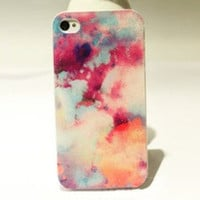 Abstract Shading Hard Cover Case For Iphone 4/4s/5