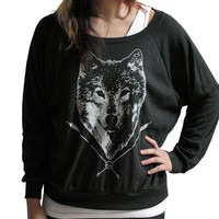 Handmade Gifts | Independent Design | Vintage Goods Spirit of the Wolf Pullover Top - Accessories - Girls
