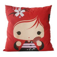 Handmade Gifts | Independent Design | Vintage Goods Deluxe Geisha Girl Pillow - Pillows - For The Home
