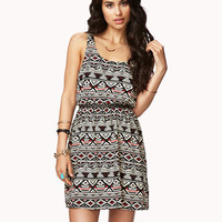 Cutout Tribal-Inspired Dress | FOREVER21 - 2056670711