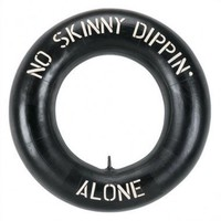 "RAM Gameroom ""No Skinny Dippin' Alone"" Outdoor Sign - ODR285 - All Wall Art - Wall Art & Coverings - Decor"