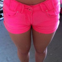 Gorgeous bright shorts from cheapboutique