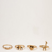 Zoo Ring Set